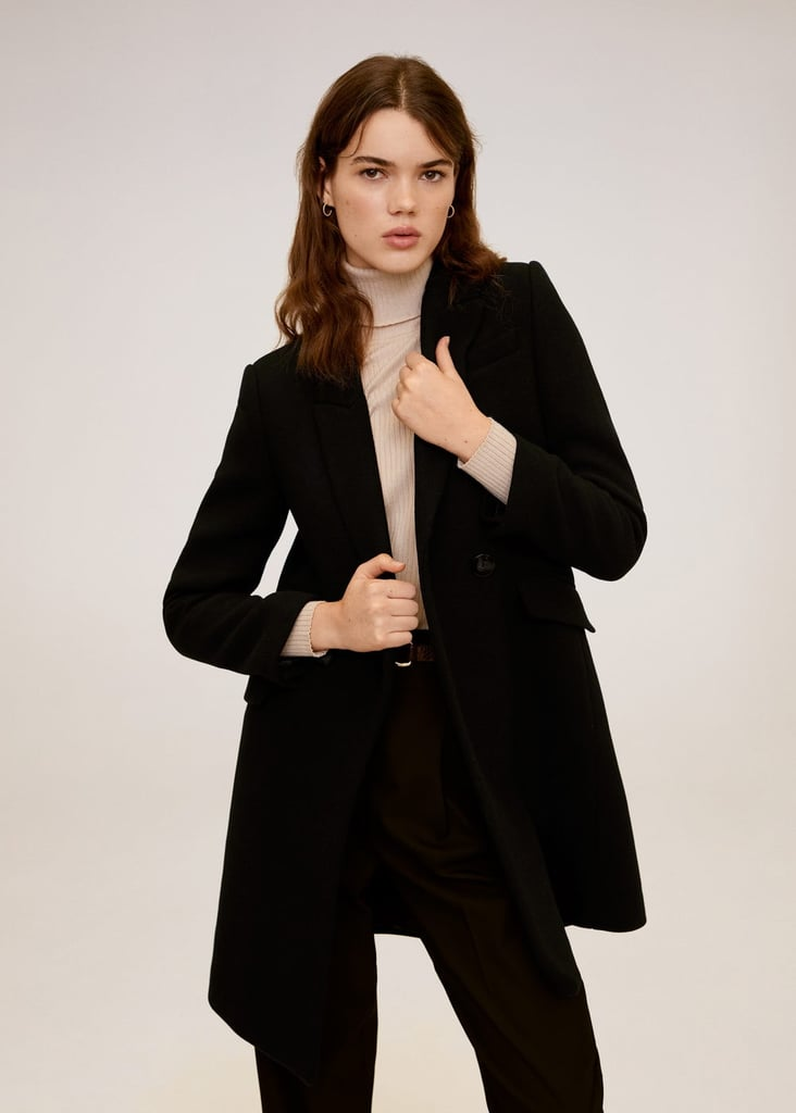 MNG Lapels Wool Coat