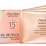 Jan. 9: Shiseido Benefiance WrinkleResist24 Pure Retinol Eye Mask