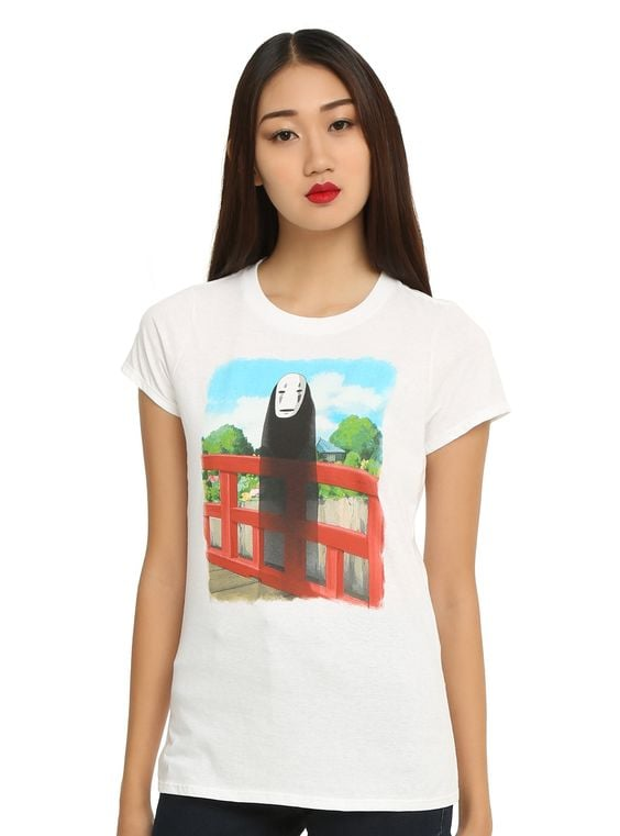 Studio Ghibli fans know that almost every movie from the studio has touched their hearts, but none like Spirited Away. Fifteen years ago, Spirited Away graced the screen and we fell in love with Chihiro. Thankfully, Hot Topic understands our love and devotion to Studio Ghibli and released an exclusive Spirited Away clothing line, along with other accessories and gifts.  The line, available in stores and online, includes t-shirts, sweaters, jackets, dresses, and more that are inspired by characters like Chihiro and No-Face. Love every single piece? Buy one and attend a special Fathom event to watch the movie in theaters on Dec. 4 at 12 p.m. or Dec. 5 at 7 p.m.  Check out some of the collection ahead and add your favorites to your wish list!      Related:                                                                You'll Want Every Single One of These Miyazaki-Inspired Gifts                                                                   The Best iPhone Cases For Fans of Japan's Studio Ghibli                                                                   Celebrate Your Love of Star Trek With This Adorable Clothing Line
