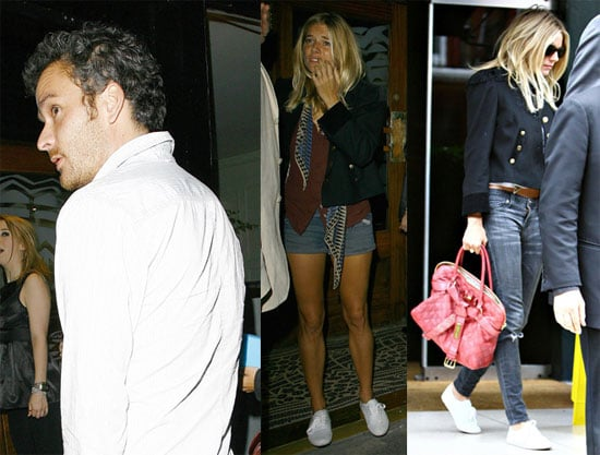 Photos of Sienna Miller and Balthazar Getty in London