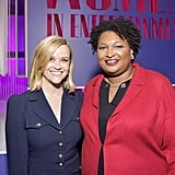 Reese Witherspoon and Stacey Abrams