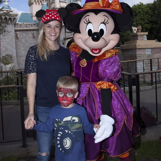 Reese Witherspoon and Tennessee Toth at Disneyland 2016