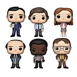 Funko Pop! The Office Bundle of 6: Jim Halpert, Michael Scott, Pam Beesly, Dwight Schrute, Darryl Philbin, Kevin Malone