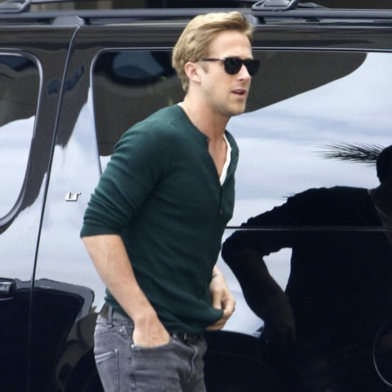 Ryan Gosling at Montage Hotel Pictures