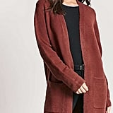 Forever 21 Open-Front Duster Cardigan