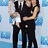 "Alec and Hilaria Baldwin Had Their ""Very Own Boss Baby"" at the Film's Premiere"