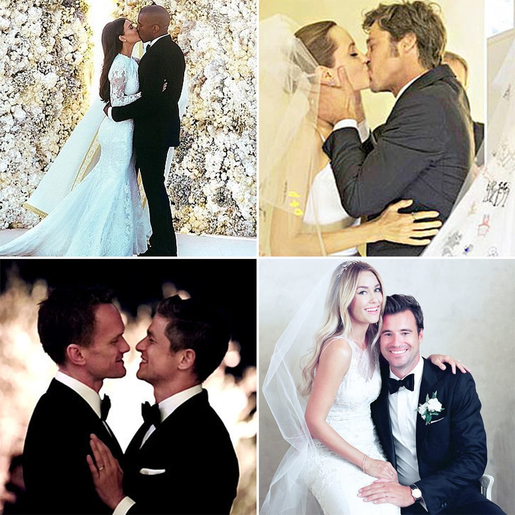 All the Celebrities Who Came Down With Wedding Fever in 2014