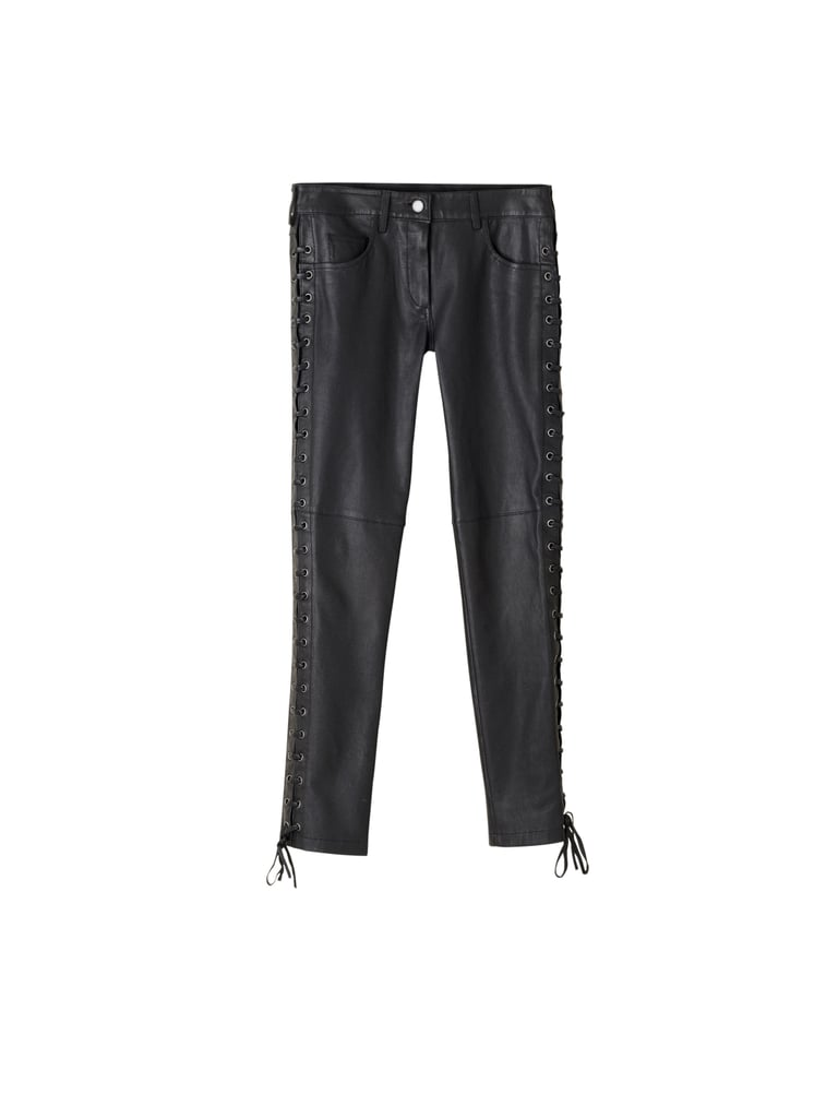 Leather Trousers ($299) Photo courtesy of H&M