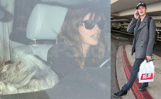 Hayden Christensen Is Picked Up By Rachel Bilson at LAX