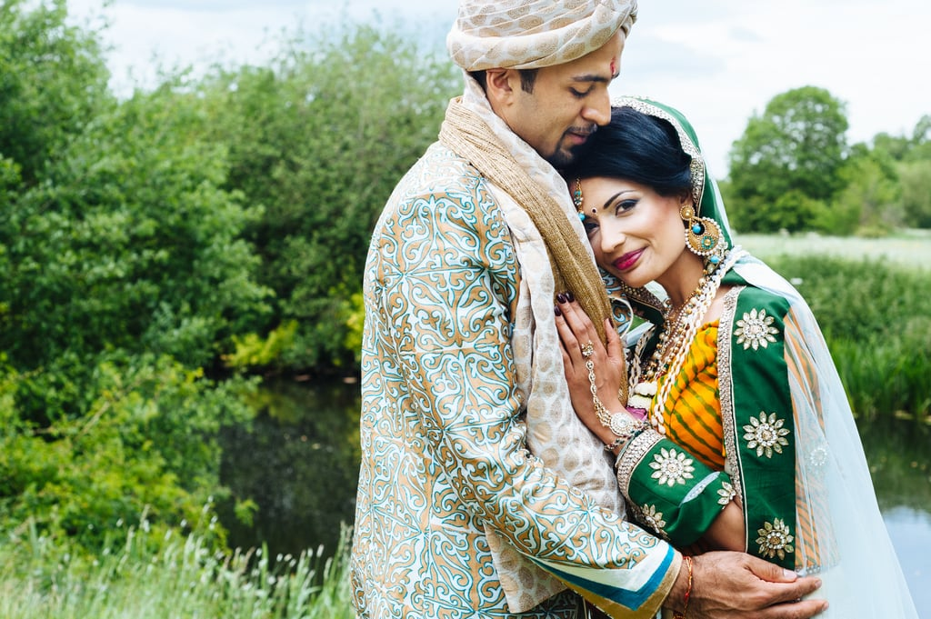 This gorgeous Indian wedding was one of photographer Nigel Edgecombe's favorite weddings of 2015.