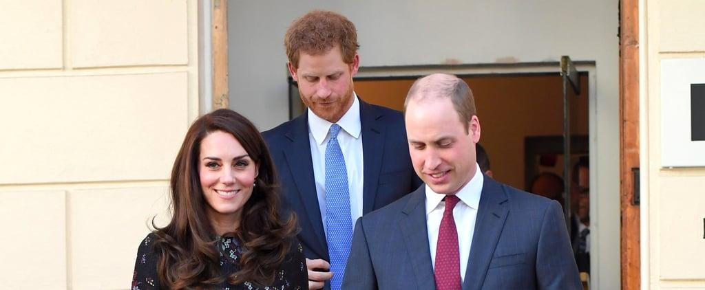 كيت ميدلتون تطل علينا برفقة الأميرين بفستانها الذي سرق الأنظار