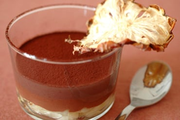 Yummy Link: Chocolate Jelly with Pineapple and Violet