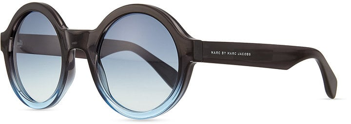 Marc by Marc Jacobs Round Bicolor Sunglasses