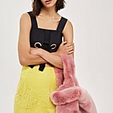 Topshop Dolly Faux Fur Tote Bag (£39)