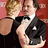 Pictured: Kate Winslet and Johnny Depp