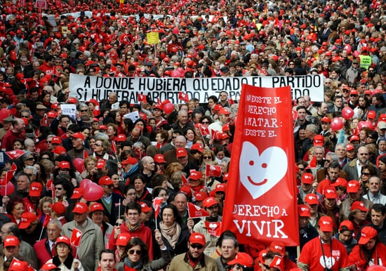 Thousands March Against Looser Abortion Laws in Spain