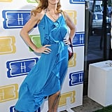 Connie Britton got blown by the breeze.