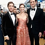 Pictured: Thomas Middleditch, Ellie Kemper, and Zach Woods