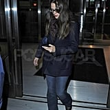 Jennifer Garner Jets to NYC Prior to Her Arthur Premiere and Dave Interview