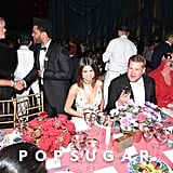 Deborra-Lee Furness, The Weeknd, Selena Gomez, and James Corden