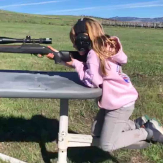 Carey Hart Defends Allowing His Child to Shoot a Gun