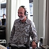 Top Chef Masters alum — and deejay — Hubert Keller worked the beats.
