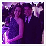 Lisa and Brian Sugar attended the Governors Ball after the Oscars. Source: Instagram user lisapopsugar
