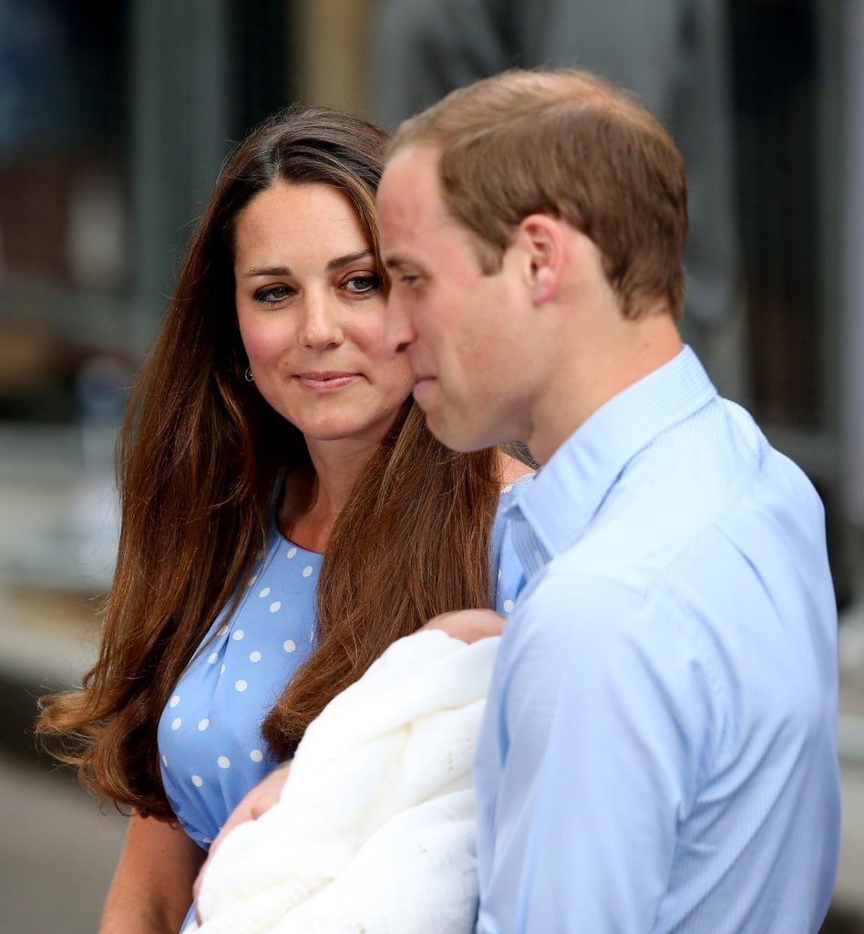 """When a reporter asked if his son had hair, Prince William quipped, """"He's got way more than me, thank God!"""""""