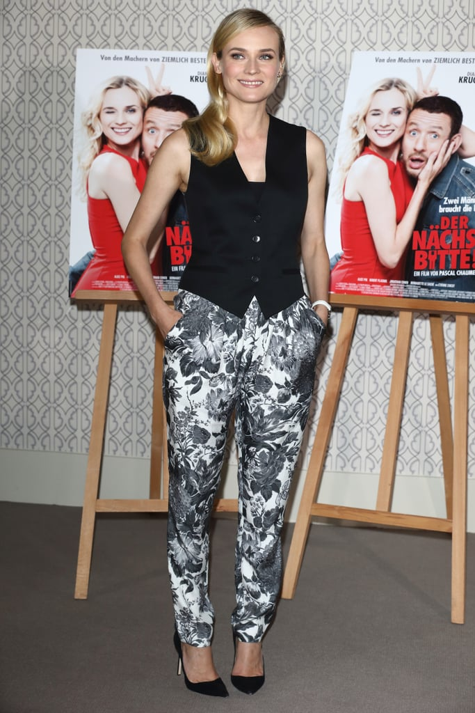 Diane Kruger hit her home country, Germany, to promote her new film Der Nachste, Bitte! on January 31.