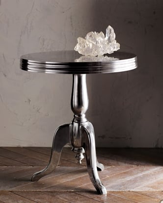Crave Worthy:  Aluminum Wine Table