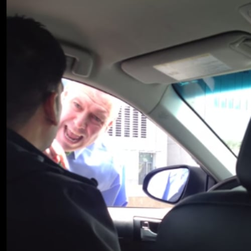 Cop Rant Against Uber Driver