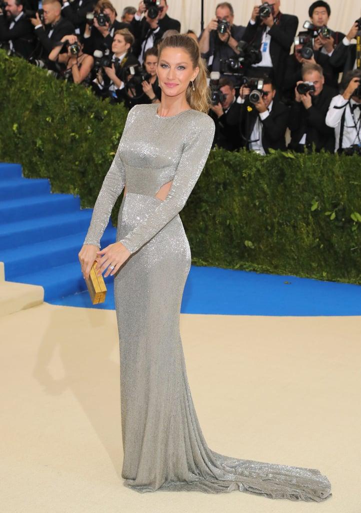 Gisele Bundchen Stella McCartney Dress Met Gala 2017 | POPSUGAR Fashion