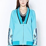 This bright aqua standout ($1,395) from 3.1 Phillip Lim is destined to match with way more than you could ever imagine.