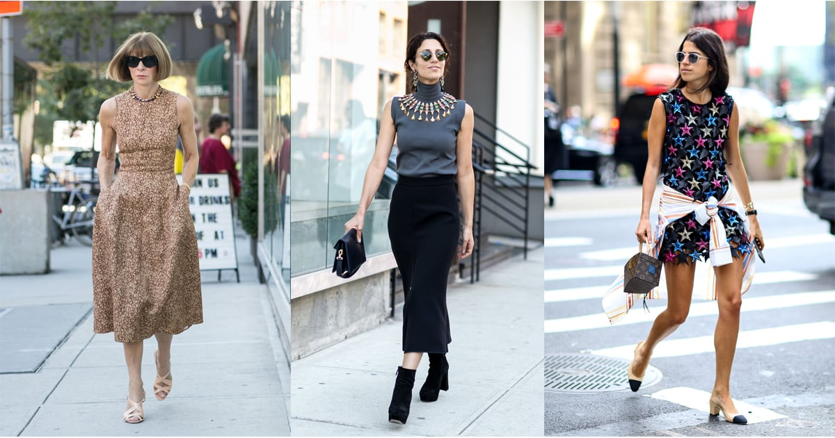 Bloggers And Editors Street Style At New York Fashion Week Popsugar Fashion Australia