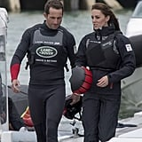 Kate and Sir Ben Ainslie