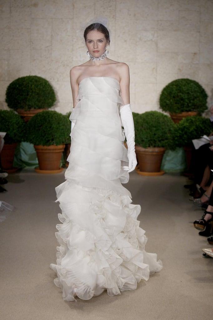 Oscar de la renta bridal spring 2011 oscar de la renta wedding oscar de la renta bridal spring 2011 junglespirit Image collections