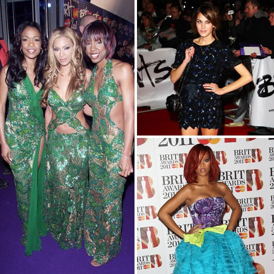 Red Carpet Moments from the Brit Awards from Years Gone By: Catch Our Fashion Flashback!
