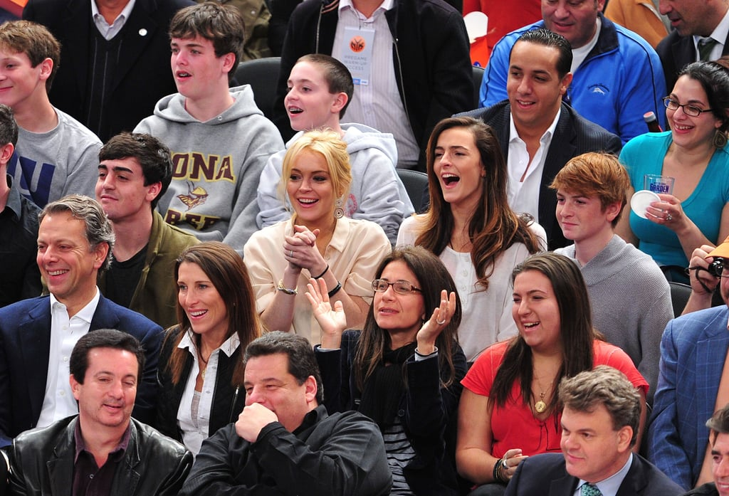 Lindsay, Ali, Michael, and Cody Lohan
