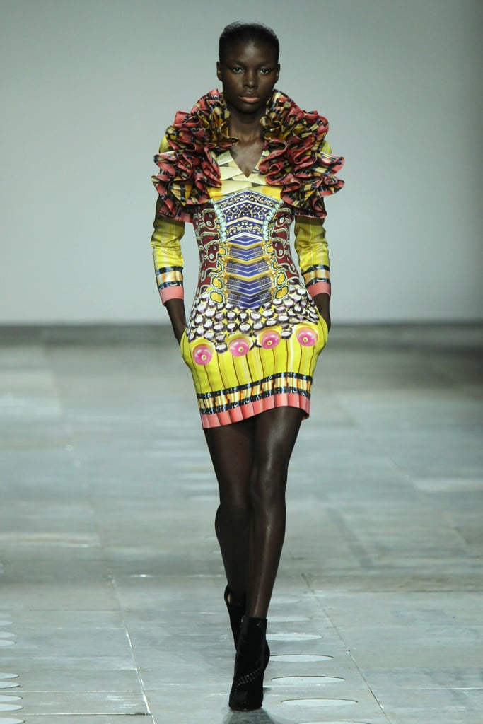 Mary Katrantzou Runway 2012 Fall