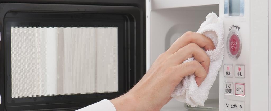 أسهل طريقة لتنظيف الميكروويف دون مواد كيميائية 2020