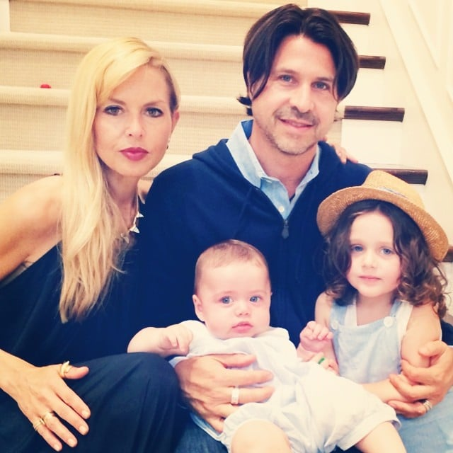 The whole family got in on Roger Berman's Father's Day photo. Source: Instagram user rachelzoe