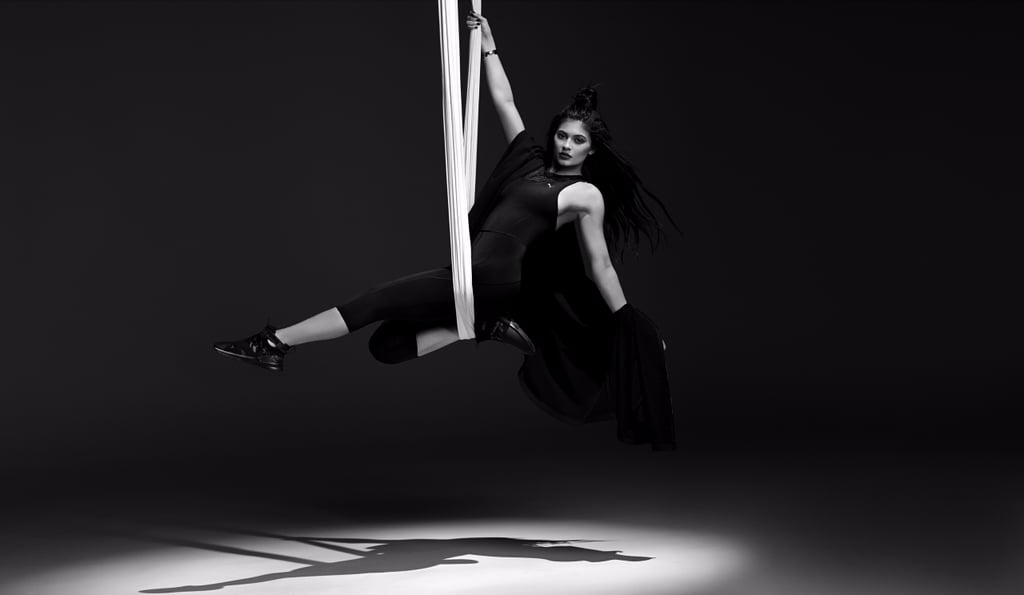 Kylie Jenner Face of Puma's The Swan Pack Collection