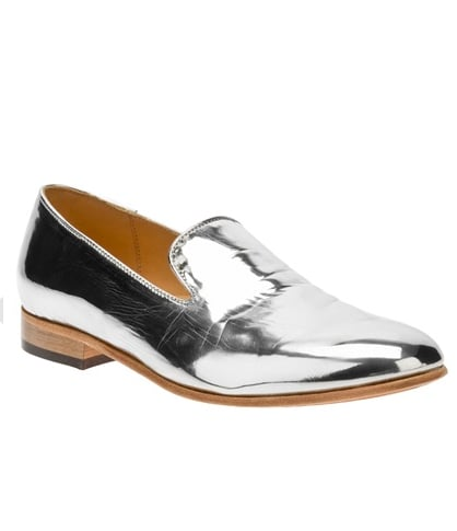 We'd wear these adorable Dieppa Restrepo Mirrored Loafers ($296) with cropped trousers, a turtleneck, and a blazer for a casual yet cute weekend look.