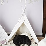 Metallic Dot Mini Teepee ($179)
