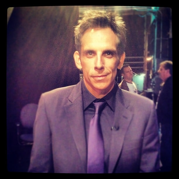 Ben Stiller stopped by the Tonight show. Source: Instagram user tonightshow