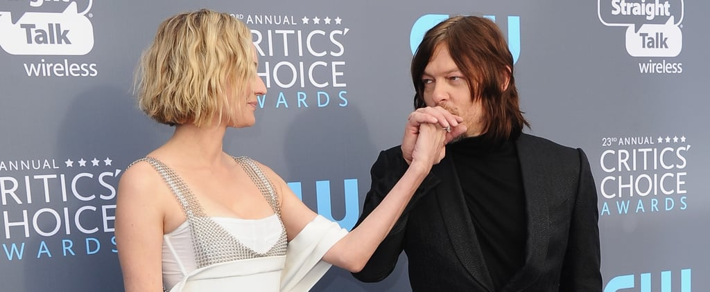 Diana Kruger and Norman Reedus 2018 Critics' Choice Awards