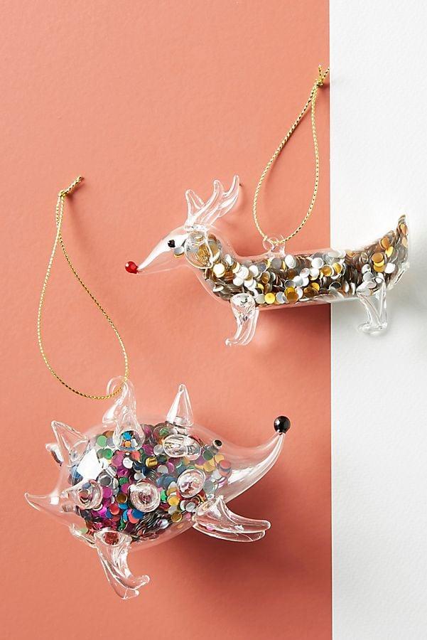 Confetti-Filled Animal Ornament