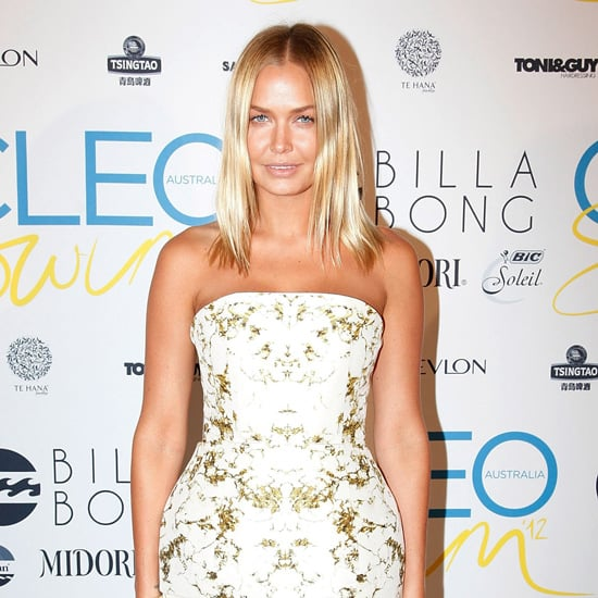 2012 Cleo Swimsuit Party Celebrity Pictures of Lara Bingle