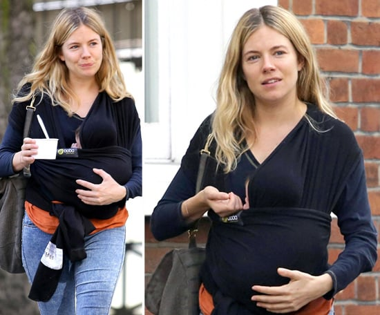 Sienna Miller Baby | First Pictures