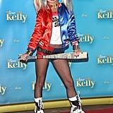 Kelly Ripa as Harley Quinn From Suicide Squad